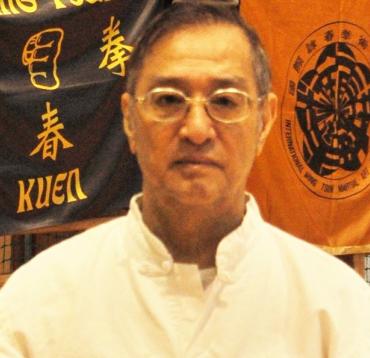 Leung Ting Wing Tsun Kung Fu nagymester portréja